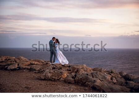 нежный женщину пляж курорта портрет красивой Сток-фото © Anna_Om