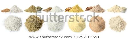different sort of flour Stock photo © M-studio