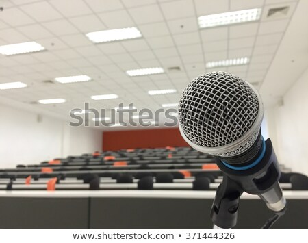 Audio Visual Room Interior Stock photo © lenm