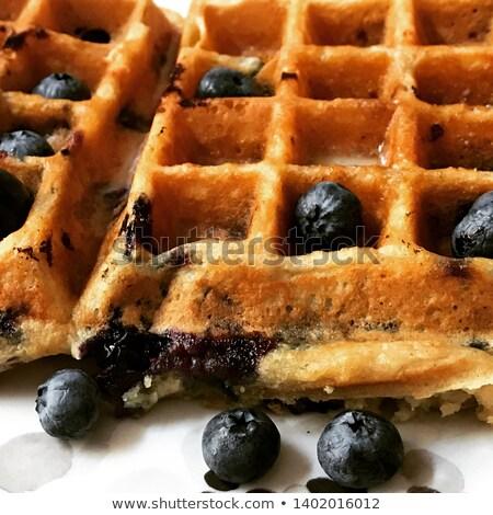 primer · plano · mixto · frutas · arce · jarabe · desayuno - foto stock © melnyk