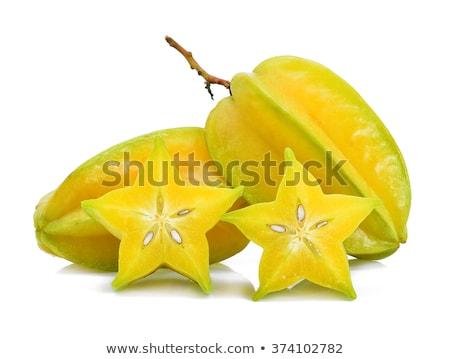 Star apple on white background stock photo © ungpaoman