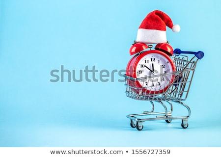 クリスマス 雪だるま おもちゃ 目覚まし時計 支店 ストックフォト © karandaev