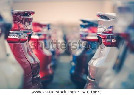 Voiture vente hommes techniques état automobile Photo stock © jossdiim