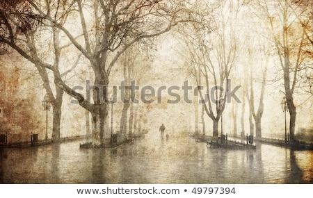 square in odessa ukraine photo in old image style stock photo © massonforstock