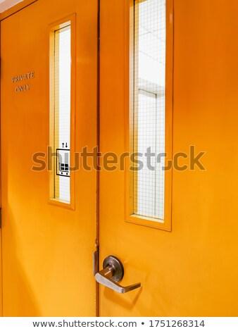 вертикальный · двери · серый · горизонтальный · катиться · вверх - Сток-фото © stockfrank