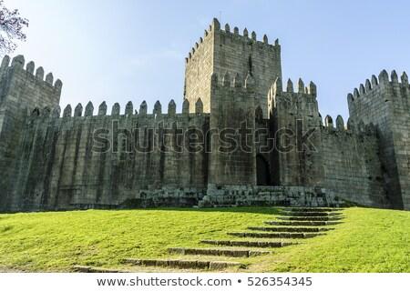 Middeleeuwse kasteel stad regio Portugal muur Stockfoto © homydesign