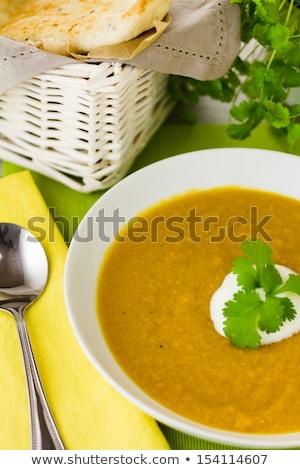 savoury lentil soup stock photo © barbaraneveu