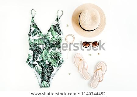 ビーチ · オブジェクト · 休暇 · デザイン · 芸術 · 旅行 - ストックフォト © netkov1