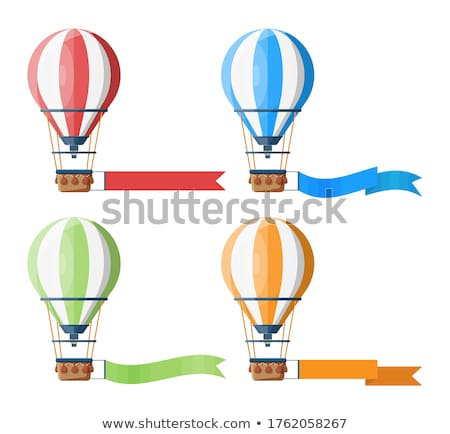 vector aerostat hot balloon Stock photo © VetraKori