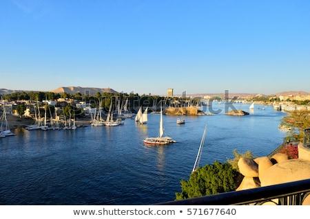 Nile and Aswan Stock photo © Givaga