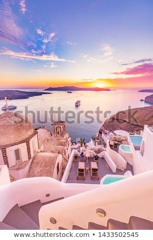 Asombroso playa vista hermosa panorámica paisaje Foto stock © Anna_Om