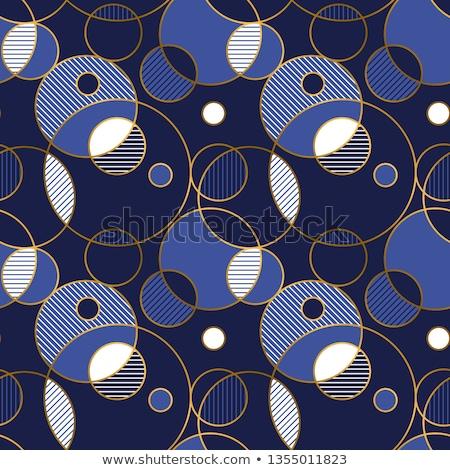 witte · lijn · stijl · cijfer · illustratie - stockfoto © Blue_daemon