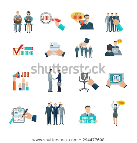 ビジネス ウェブサイト リソース 就職活動 ベクトル アイコン ストックフォト © pikepicture