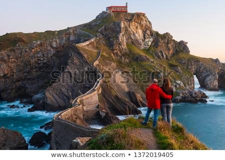 San juan rotsen zee water Spanje natuur Stockfoto © neirfy