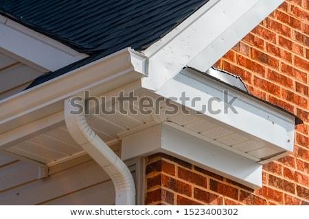 Budynku dachu ilustracja działalności biuro domu Zdjęcia stock © bluering