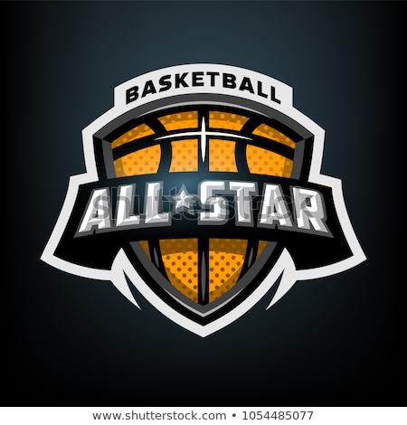 basketball tournament sports team logo concept design Stock photo © SArts