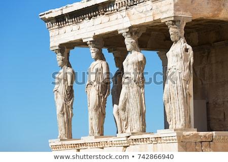 Partenon · Acrópole · cidade · Atenas · azul · pedra - foto stock © vladacanon
