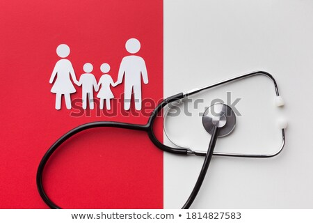 聴診器 家族 実例 アイコン 抽象的な 医療 ストックフォト © pkdinkar
