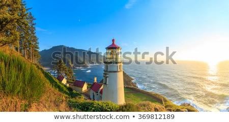 North Head Lighthouse on the Oregon Coast  stock photo © Frankljr