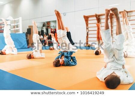 karate · erkek · spor · salon · egzersiz · el - stok fotoğraf © Paha_L
