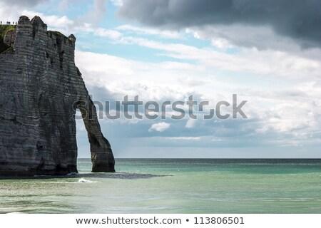 Upper Normandy coast Stock photo © RazvanPhotography