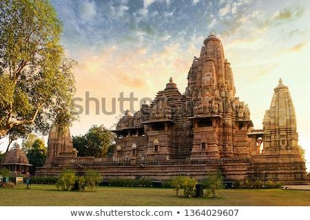 três · fachada · templo - foto stock © borna_mir