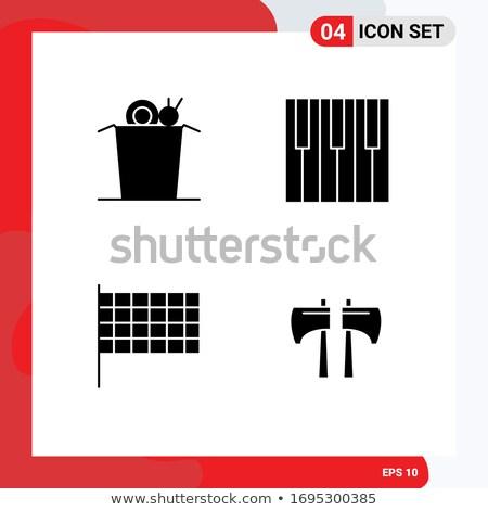 equalizador · ícone · simples · ilustração · música · assinar - foto stock © tele52
