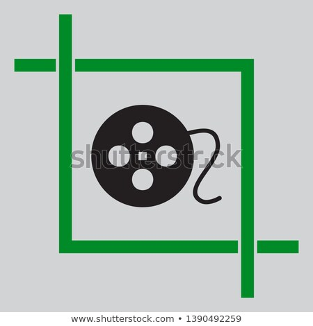 35 greengrey icons stock photo © gaudiums