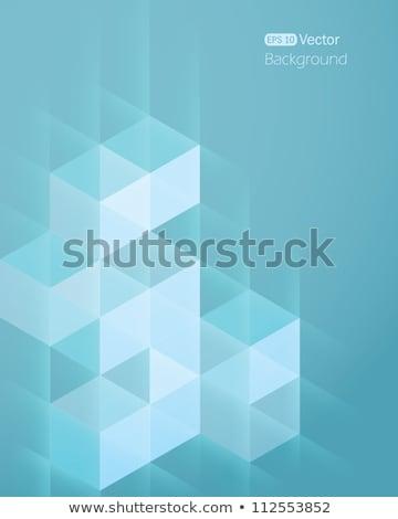 черный аннотация синий Элементы искусства шаблон Сток-фото © Oksvik
