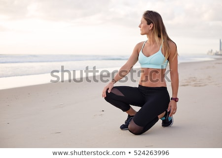 Flat Stomach On Healthy Girl Stock photo © stuartmiles