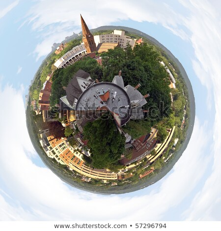 Mini Planet New England Panorama Stock photo © ArenaCreative
