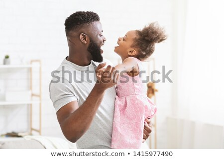 Daddy and daughter having a hug Stock photo © photography33