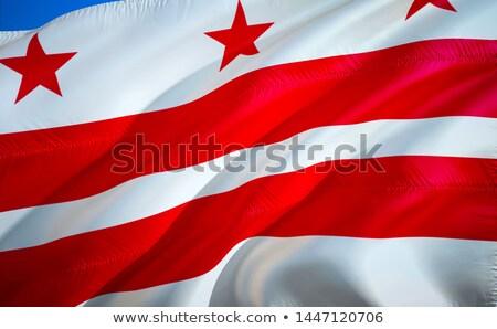 zászló · nagy · illusztráció · USA · szalag · szimbólum - stock fotó © tony4urban