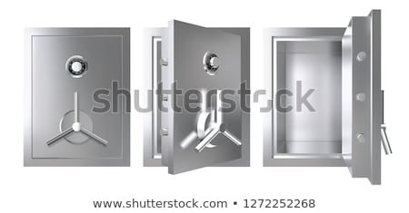 steel safe Stock photo © AnatolyM