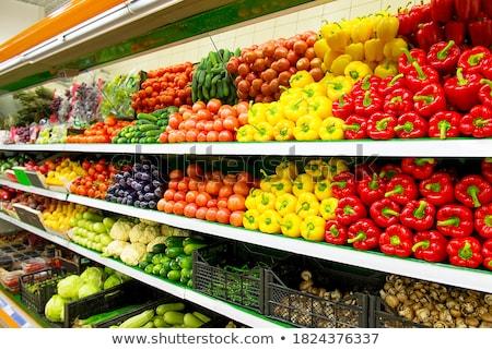 Taze organik salatalık beyaz gıda arka plan Stok fotoğraf © jakgree_inkliang