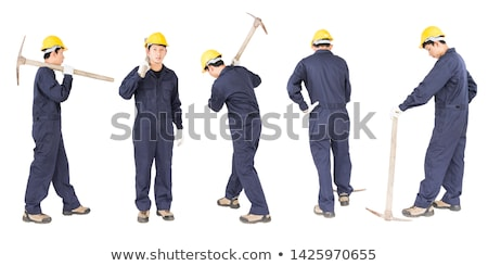 A man with a pickaxe. Stock photo © photography33