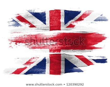 abstract british flag stock photo © andreasberheide