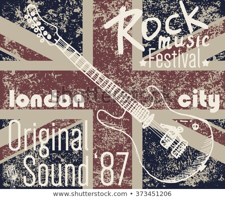 Engeland · grunge · vlag · textuur · retro · digitale - stockfoto © speedfighter