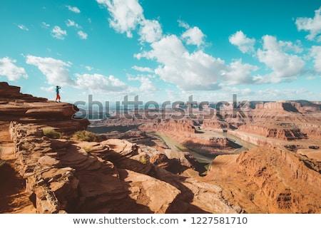 Parque Utah EUA paisaje montanas rocas Foto stock © phbcz