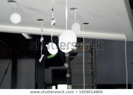 elektrikçi · eller · elektrik · duvar - stok fotoğraf © photography33