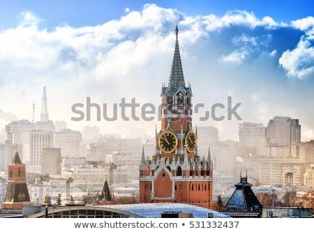 クレムリン モスクワ タウン 曇った 日 水 ストックフォト © AndreyKr