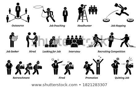 Naar man handen witte studio mannelijke Stockfoto © photography33