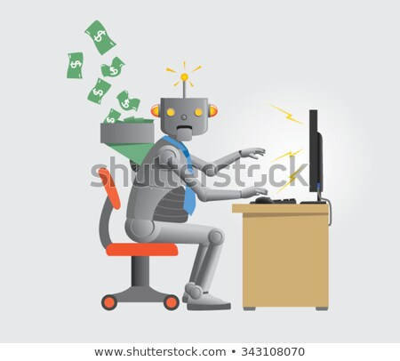 Robot Slave Stock photo © AlienCat