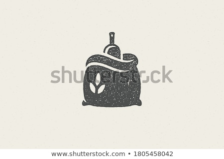 logo · un · gıda · web · ekmek · çiftlik - stok fotoğraf © butenkow