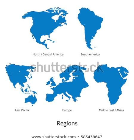 Africa Europa terra mondo modello mappe Foto d'archivio © ixstudio