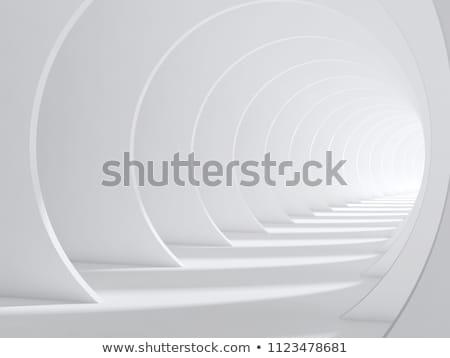 3D トンネル 画像 独自の インテリア ストックフォト © ixstudio