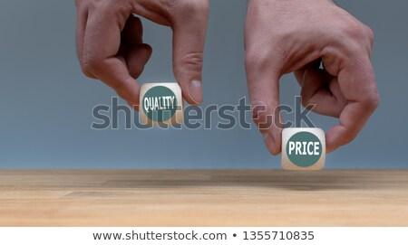 Barato dois belo senhoras surpreendido preço Foto stock © luminastock