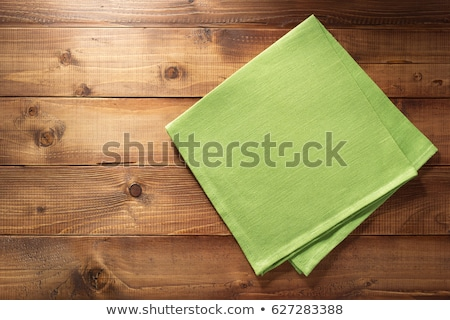 Table napkin Stock photo © stevanovicigor
