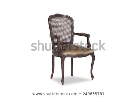 Old vintage chair Stock photo © stevanovicigor