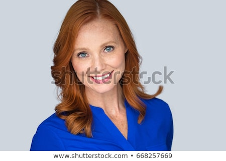 Older Woman With Red Hair Stock photo © ozgur